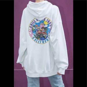 Brandy Melville Christy chill since Malibu hoodie